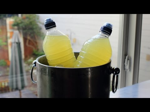 "Make Your Own Sports Drink!  How to Make ""Greaterade"" – Homemade Sports Drink Recipe"