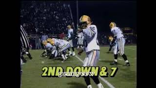 Allen Iverson first ever FOOTBALL game Full Highlights! (1991) VERY RARE - Bethel Bruins