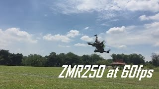 ZMR250 FPV with Xiaomi Yi at 60fps