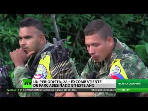 Matan al 28.ᵒ excombatiente de las FARC este año