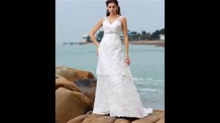 Stunning Beach Wedding Gown Collection !!
