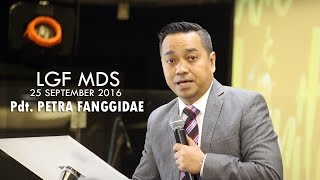 Pdt. Petra Fanggidae - Love & Maturity (LGF MDS, 25 September 2016, 08.00)