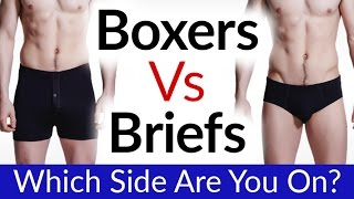 Boxers Vs Briefs Vs Boxer Briefs | Which Men's Underwear Style Is Best? | Perfect Underwear For Men?