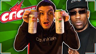 TRYING TRAVIS SCOTTS NEW DRINK CACTI!!! IS IT WORTH THE HYPE?