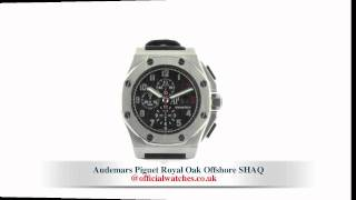 preview picture of video 'Audemars Piguet Royal Oak Offshore SHAQ'