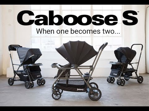 Joovy Caboose S Sit and Stand Double Stroller Review Sneak Peek