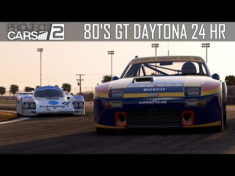 Project CARS 2 -- 80's GT Racing @ Daytona