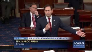 Sen  Marco Rubio R FL on debate in U S  Senate C SPAN