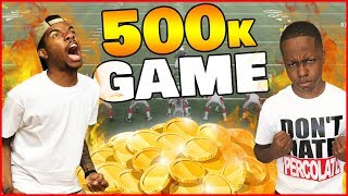 HIGH STAKES GAME! Half A Million Coins On The Line! - MUT Wars Ep.53