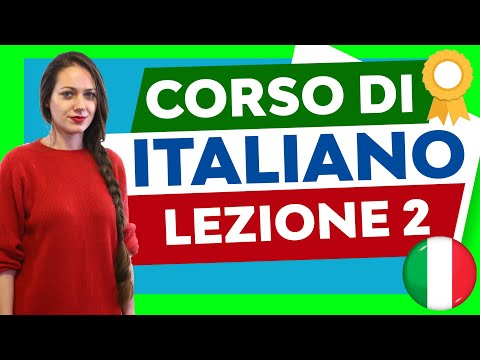 Italian Course for Beginners - Lesson 2
