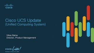 Cisco UCS: What's New