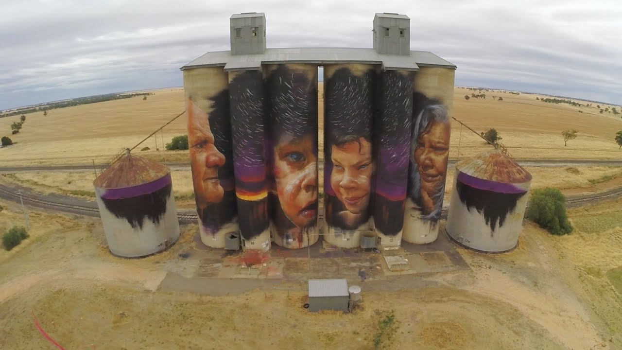 Silo Art Trail (Vic) 1 – Duration 1m:00s