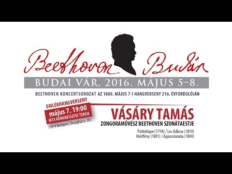 Beethoven Budán 2015 - Vásáry Tamás - video preview image