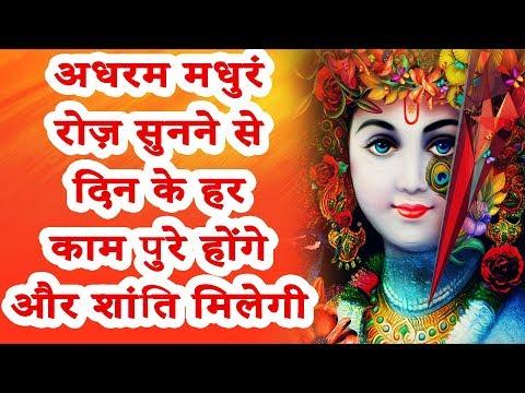 अधरम मधुरं रोज़ सुनने से दिन के हर काम पुरे होंगे और शांति मिलेगी - Shriniwas Ji Sharma