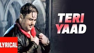 "Adnan Sami ""TERI YAAD"" Lyrical Video   Kisi Din   - YouTube"