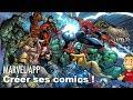 Les fans de Marvel vont pouvoir créer leurs propres comics