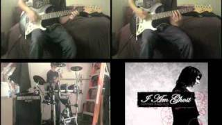 Pretty People Never Lie, Vampires Never Really Die by I Am Ghost Dual Guitar and Drum Cover