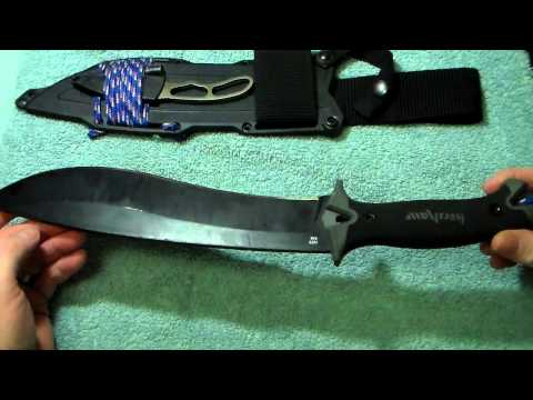 Bushcraft Machete Kershaw Camp10 , 1 Year Review !