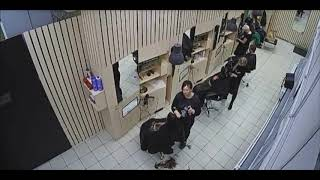 2019-11-03 13:03 Long Brown Hair Cut To Shoulder Length