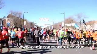 preview picture of video 'Carrera Popular Aranjuez 21 dic 14'