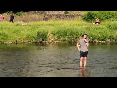 THIS MAN FLEW TO JAPAN TO SING ABBA IN A BIG COLD RIVER - Austin Weber - Official Video