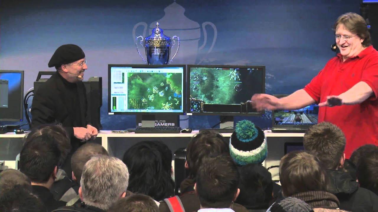Gabe Newell Vs The Israeli Taskmaster