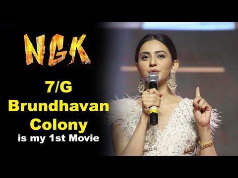 Rakul Preet Singh at NGK Movie Pre Release Event
