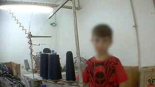 Refugee Children Forced Into Sweat Shops