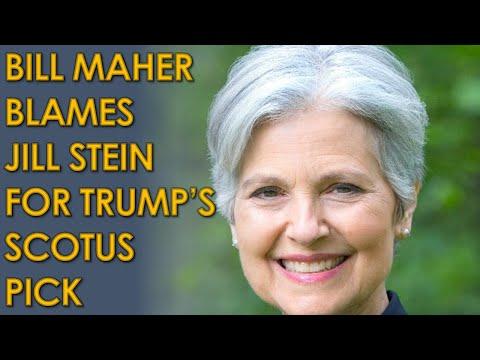 Bill Maher BLAMES Jill Stein For Trump Supreme Court Pick Amy Coney Barrett