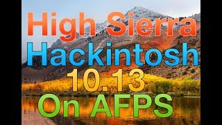 macOS High Sierra Hackintosh Guide: USB Install + Clover APFS +