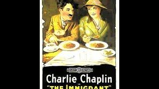 """L' Émigrant, Charlot"", 1917. Película muda, completa, en V.O., con subtítulos en francés. Hd"