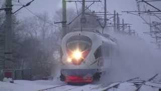 Поезд Сапсан летит - всем бояться!