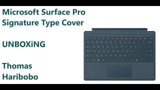 Microsoft Surface Pro Signature Type Cover - UNBOXiNG - Deutsch/German
