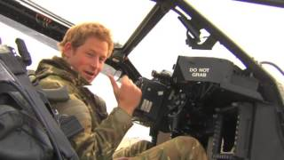 Prince Harry - How to wee in an Apache