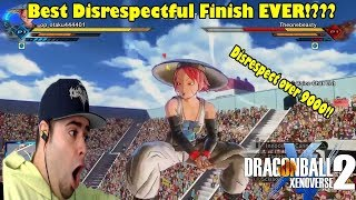 OMG Xenoverse 2 Best Disrespectful Finish Ever? Dragon Ball Xenoverse 2 Most Disrespectful Finishes