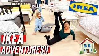 IKEA Adventures!! surprised we didn't get kicked out