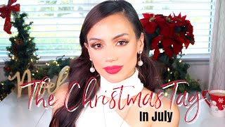 CHRISTMAS IN JULY | The Christmas Tag | Janelle Mariss