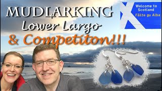 Sea Glass in Lower Largo, Beach Glass Craft jewellery and COMPETITION announcement!