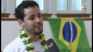preview picture of video 'Abadá-Capoeira Karlsruhe und Forró de KA beim Baden TV'