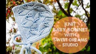 Knit Baby Bonnet/Hat