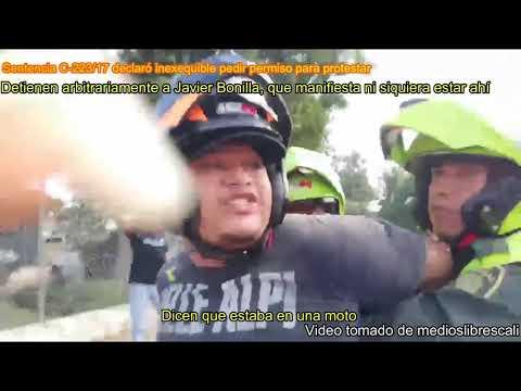 #16D DETENIDOS Y DESAPARECIDOS EN CALI POR PROTESTAR