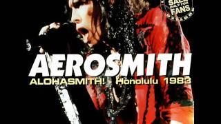 Aerosmith Sweet Emotion / Dream On Honolulu 1983