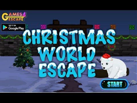 G4E Christmas World Escape Walkthrough [Games4Escape]
