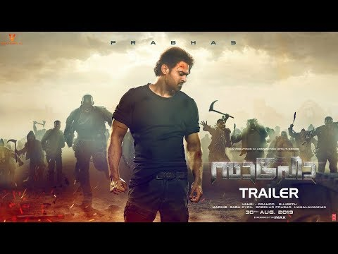 Saaho Trailer Malayalam - Prabhas