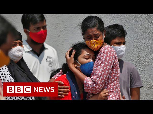 'A coronavirus tsunami we had never seen before' - BBC News