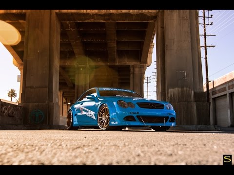 Project RONIN Rocket Bunny Mercedes-Benz CLK | Forged SV55 | Savini Wheels | V.I.P. Edition