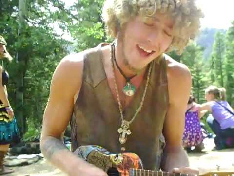 Rainbow Gathering 2009 - 'All I Am Is All I Am' Ukulele Original Song