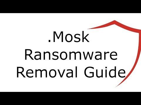 Mosk Virus File Ransomware Removal Guide