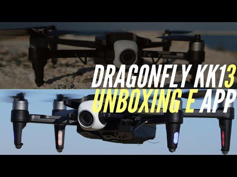 Dragonfly KK13 - Unboxing del Parrot Anafi clone!