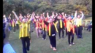 莊壽美老師帶動唱---養生握手歌